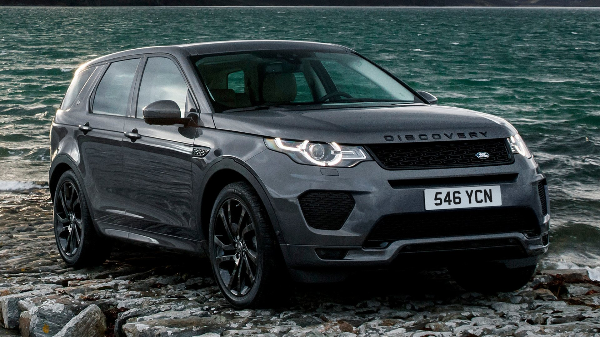 Wallpaper Land Rover Discovery Sport: 2017 Land Rover Discovery Sport Dynamic HD Wallpaper