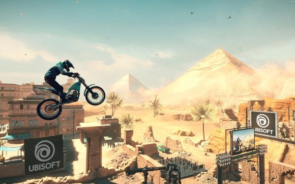 Video Game Trials Rising HD Wallpaper | Background Image
