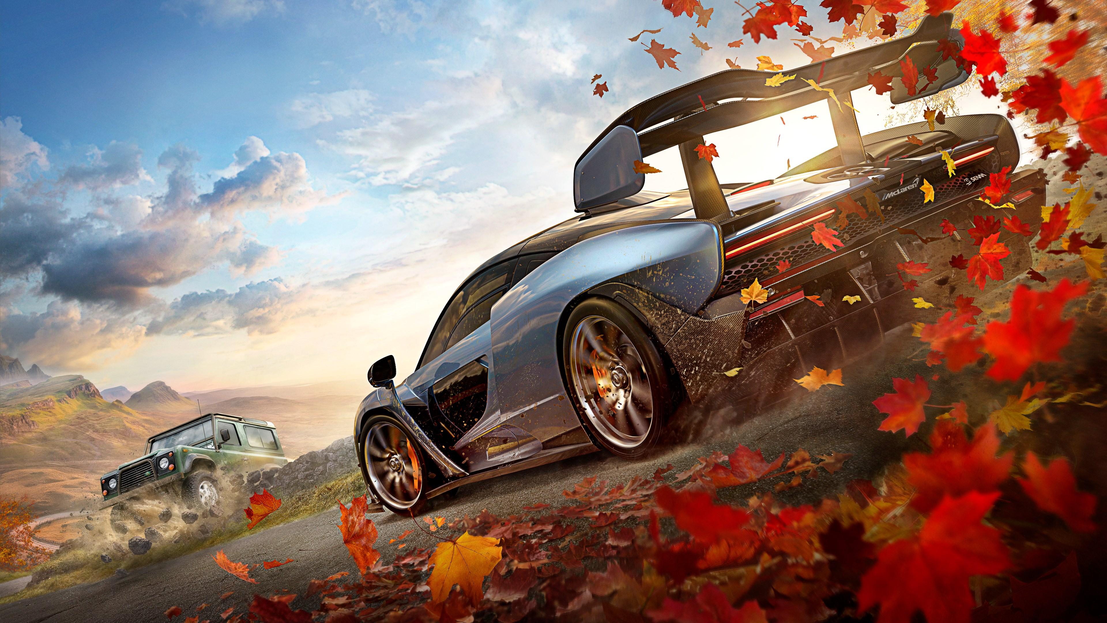 Forza Horizon 4 4k Ultra Fondo De Pantalla Hd Fondo De