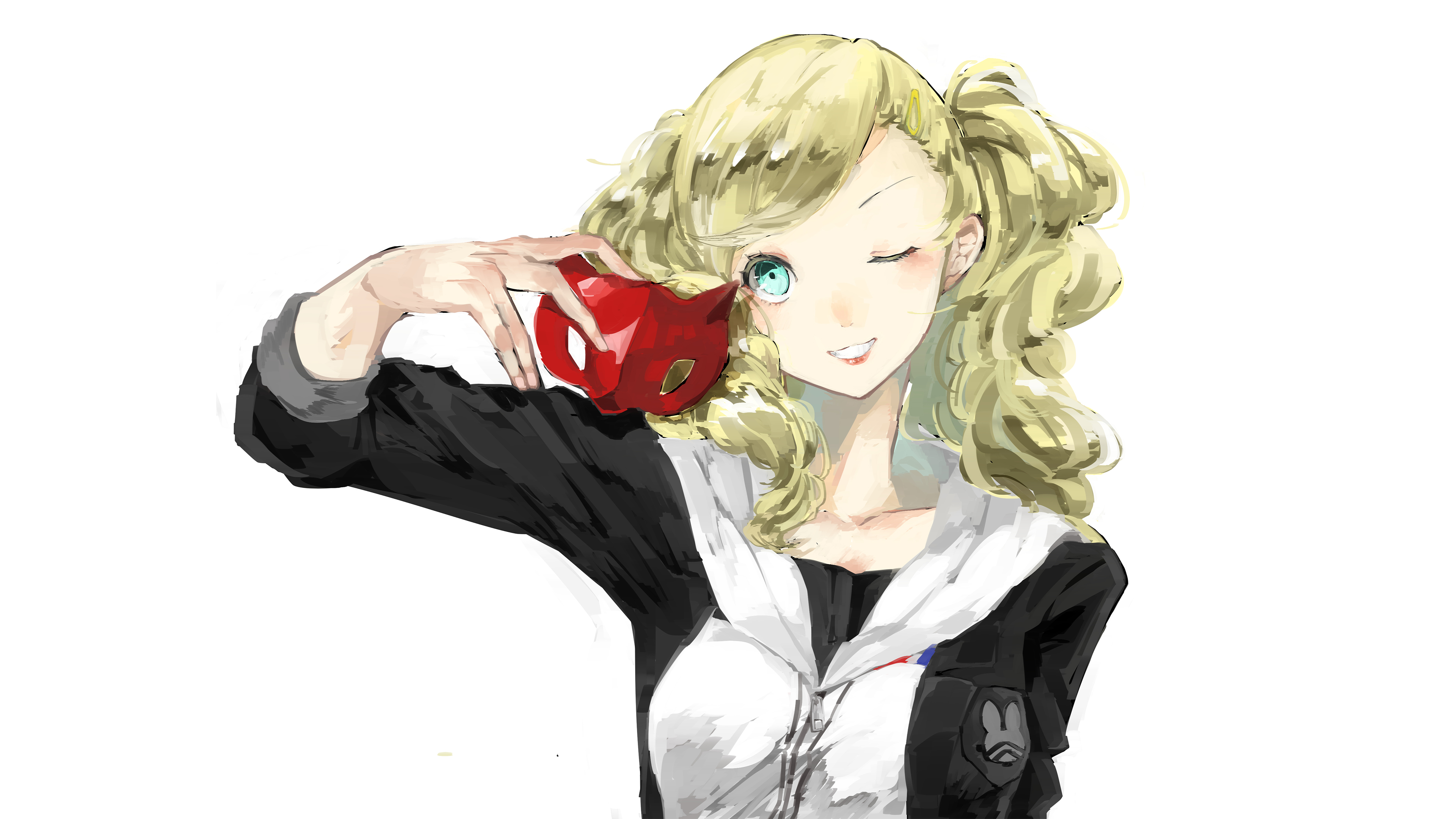Persona 5 Ann Takamaki 4k Ultra Hd Wallpaper Background Image 3840x2160 Id 930399 Wallpaper Abyss