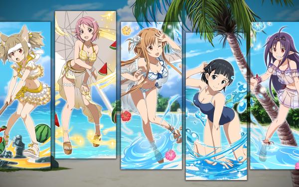 Anime Sword Art Online Summer Vacation HD Wallpaper   Background Image