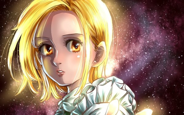 Anime The Seven Deadly Sins Elaine Face Blonde Yellow Eyes HD Wallpaper   Background Image