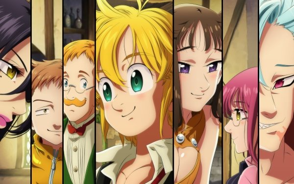 Anime The Seven Deadly Sins Meliodas Ban King Diane HD Wallpaper | Background Image