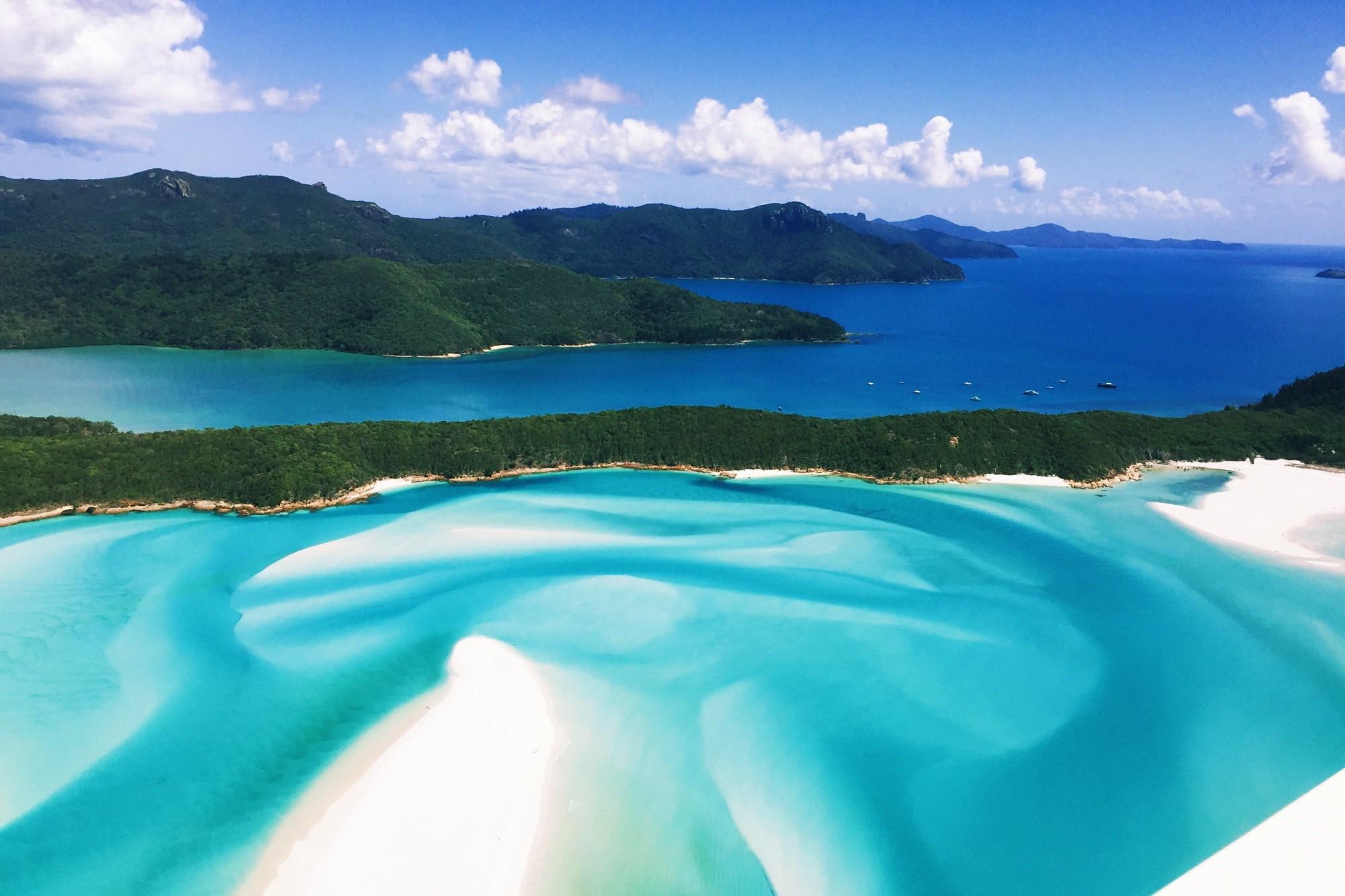 Whitehaven Beach in Australia HD Wallpaper | Background ...