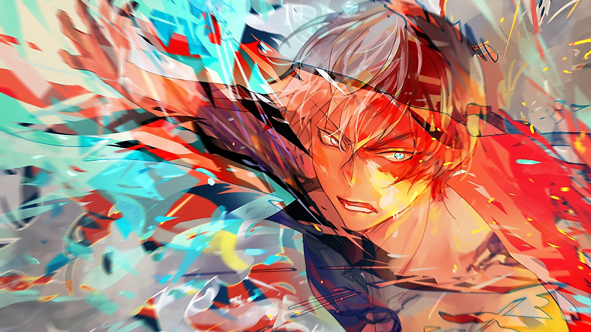 Shoto Todoroki Wallpaper HD 4k
