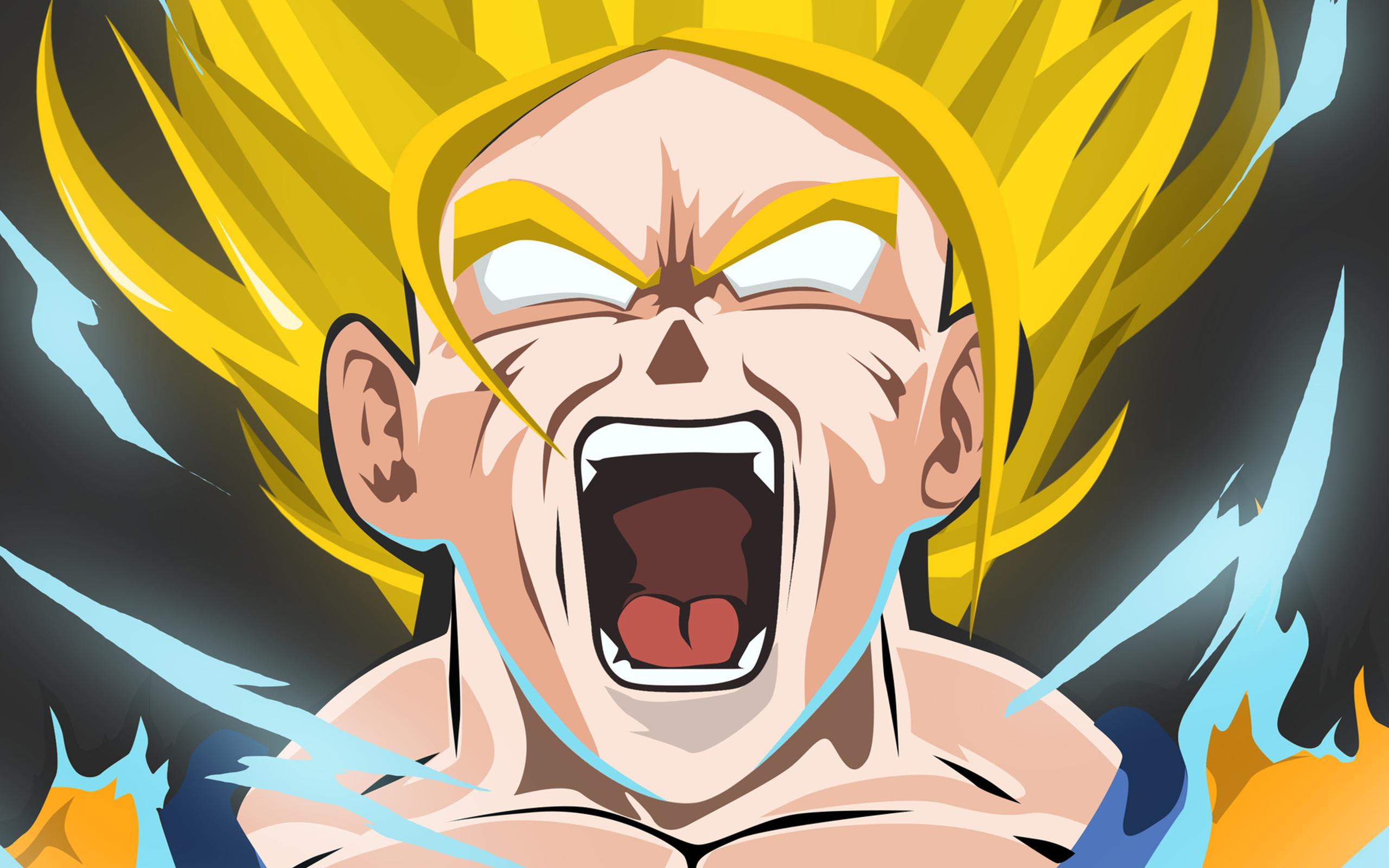 Dragon Ball Z Para Colorir Gohan Super Ssj 2: Dragon Ball Z Wallpapers Goku Super Saiyan 2