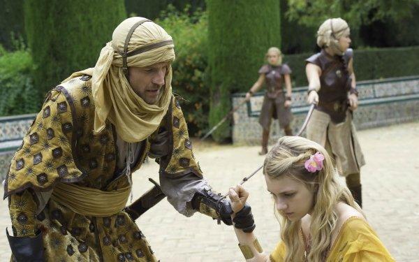 TV Show Game Of Thrones Jaime Lannister Myrcella Baratheon Nikolaj Coster-Waldau Dorne Nell Tiger Free HD Wallpaper   Background Image