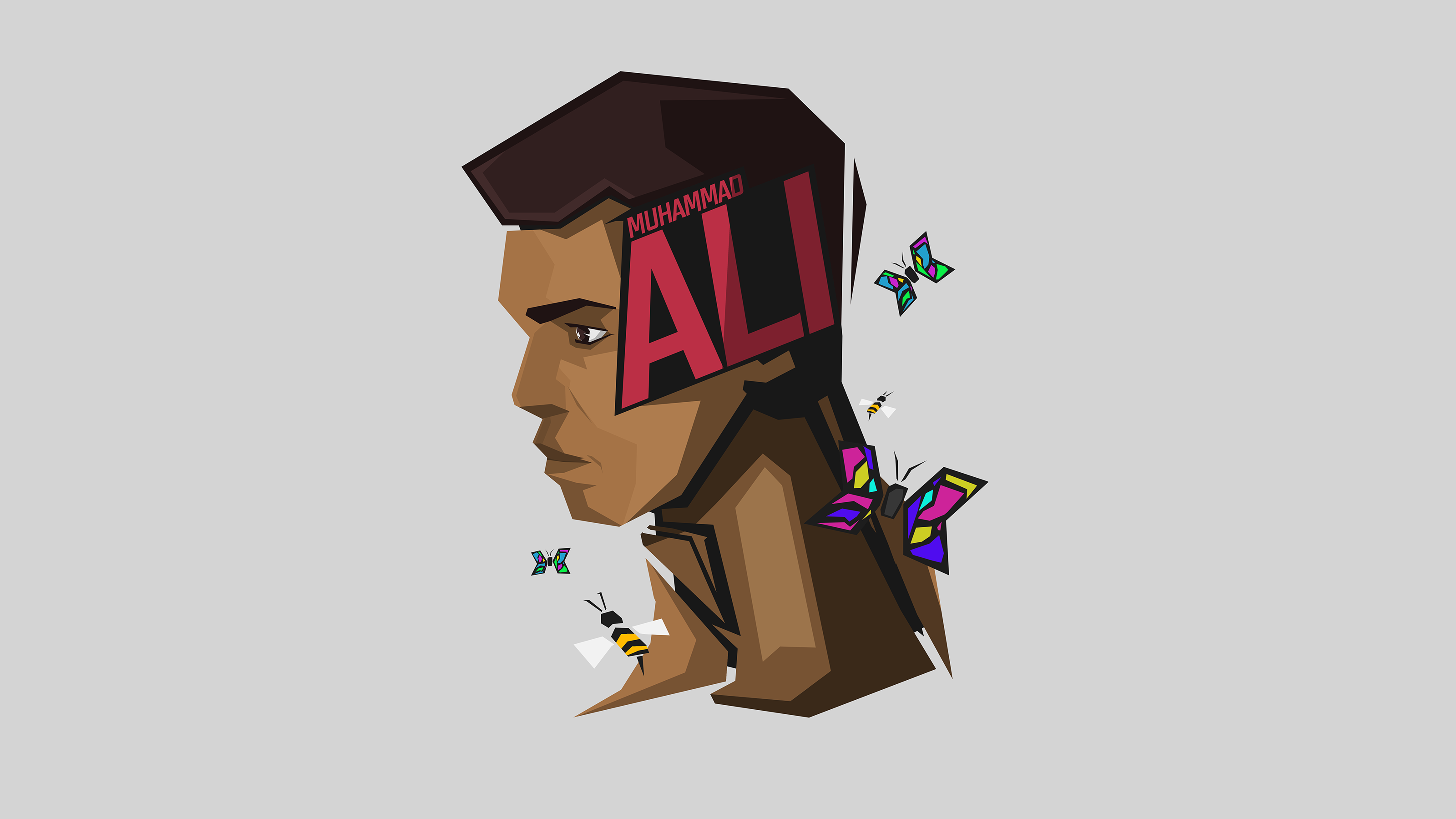 Muhammad Ali 8k Ultra Hd Wallpaper Background Image
