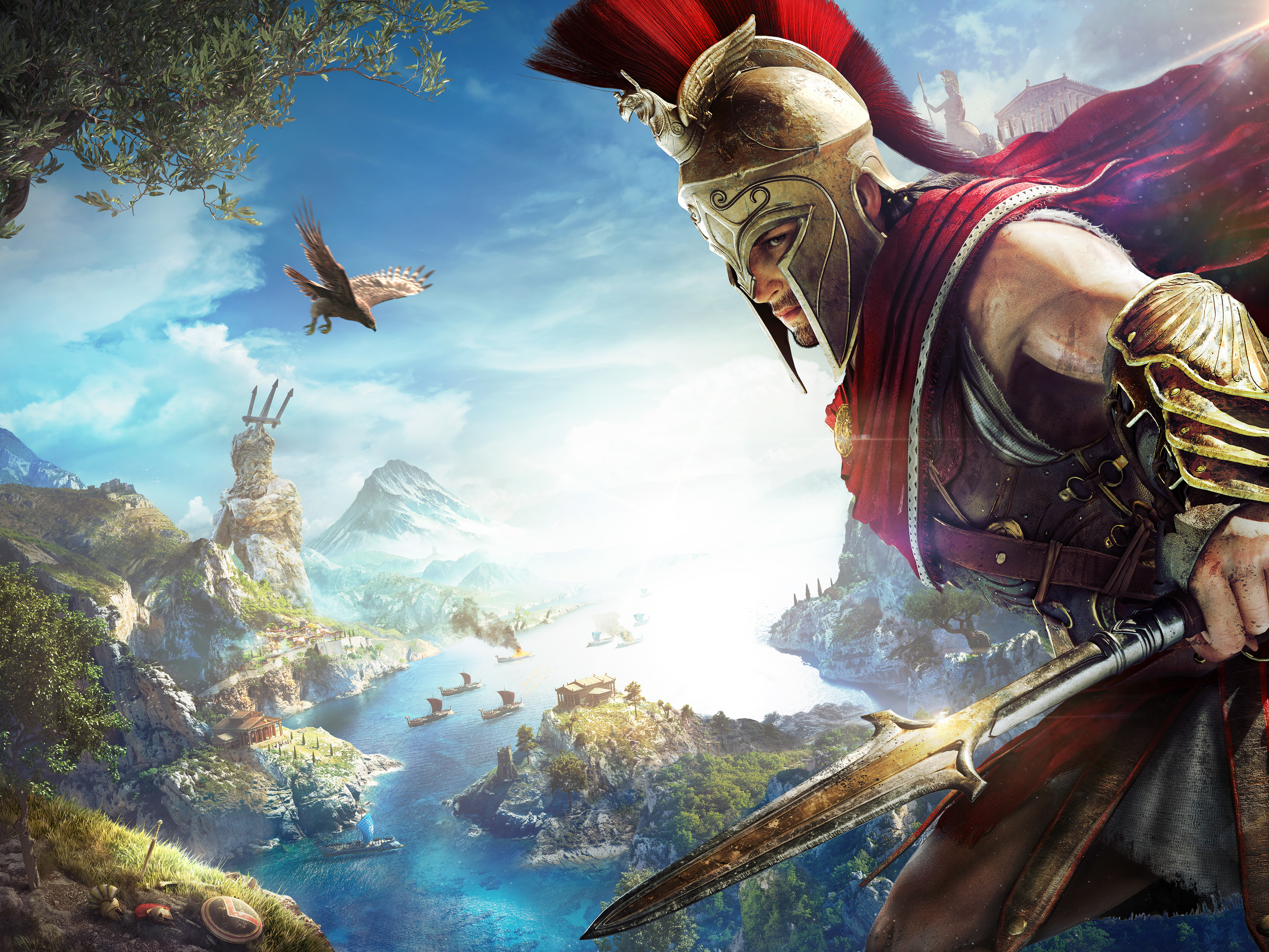 Assassins Creed Odyssey 4k Ultra Fondo De Pantalla Hd