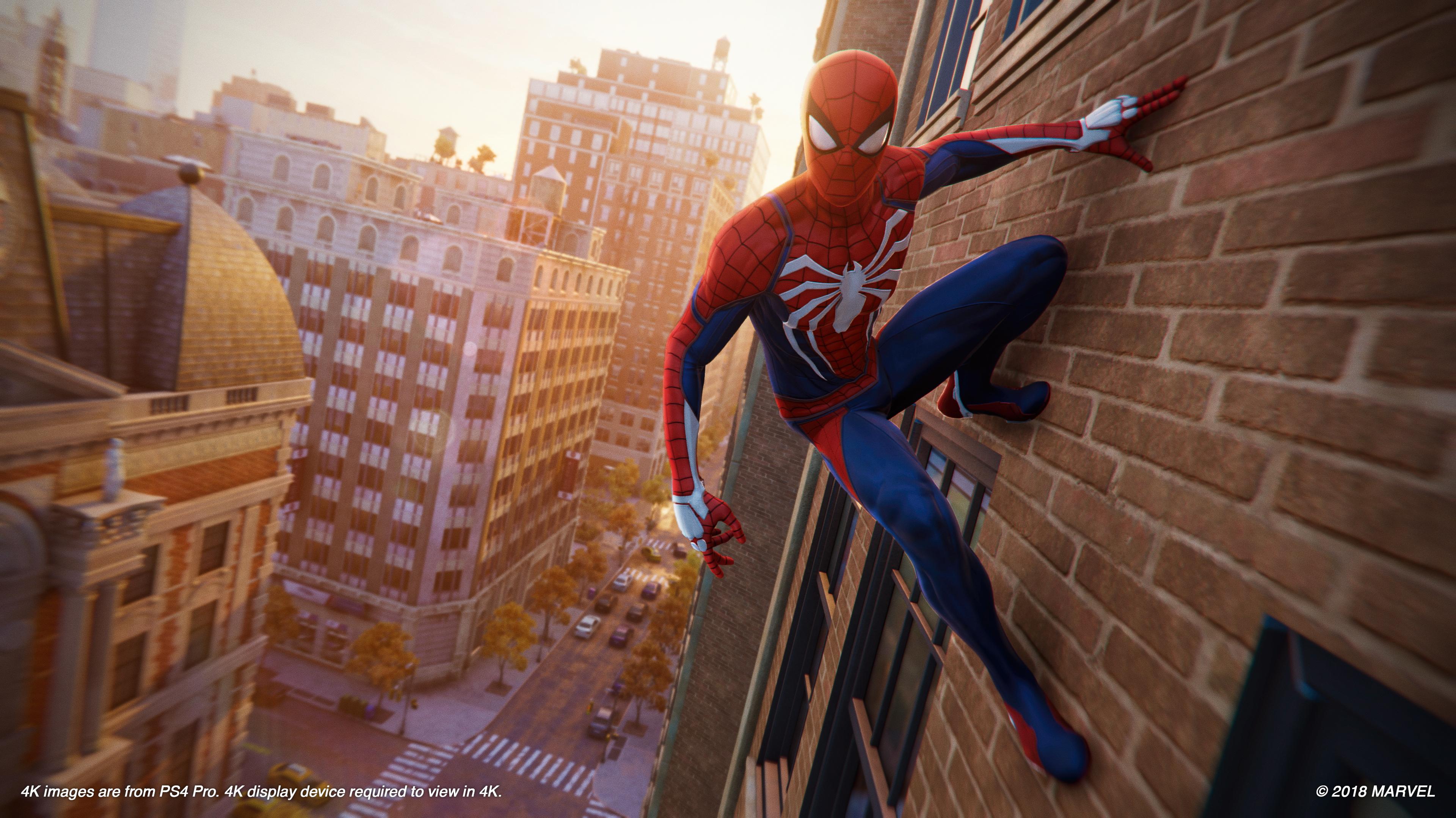 تحميل لعبة spider- man ps4