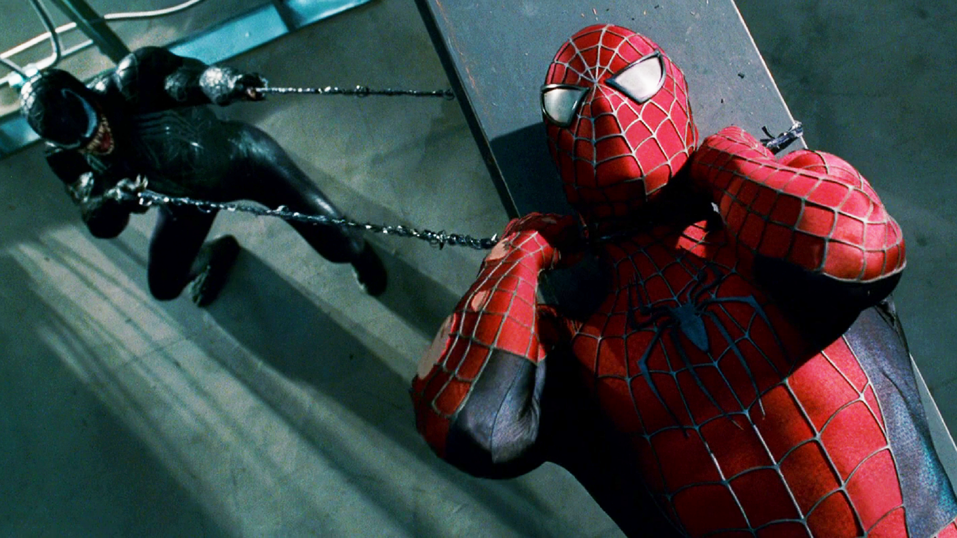 Spider Man Vs Venom Hd Wallpaper Background Image 1920x1080