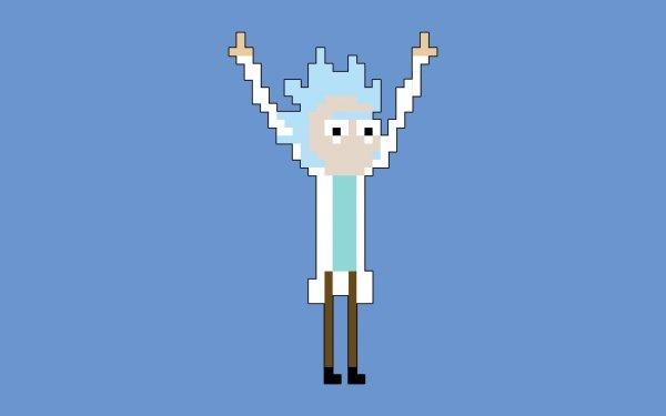TV Show Rick and Morty Rick Sanchez Pixel Art HD Wallpaper   Background Image