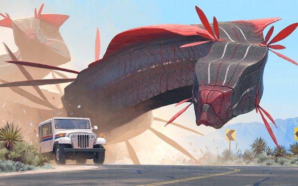 Sci Fi Robot Vehicle Car HD Wallpaper | Background Image
