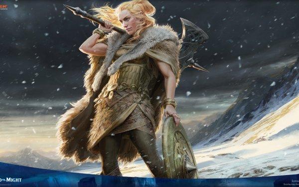 Game Magic: The Gathering Lovisa Coldeyes Human HD Wallpaper | Background Image