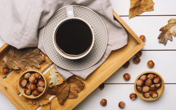 Food Coffee Cup Still Life Hazelnut HD Wallpaper | Background Image