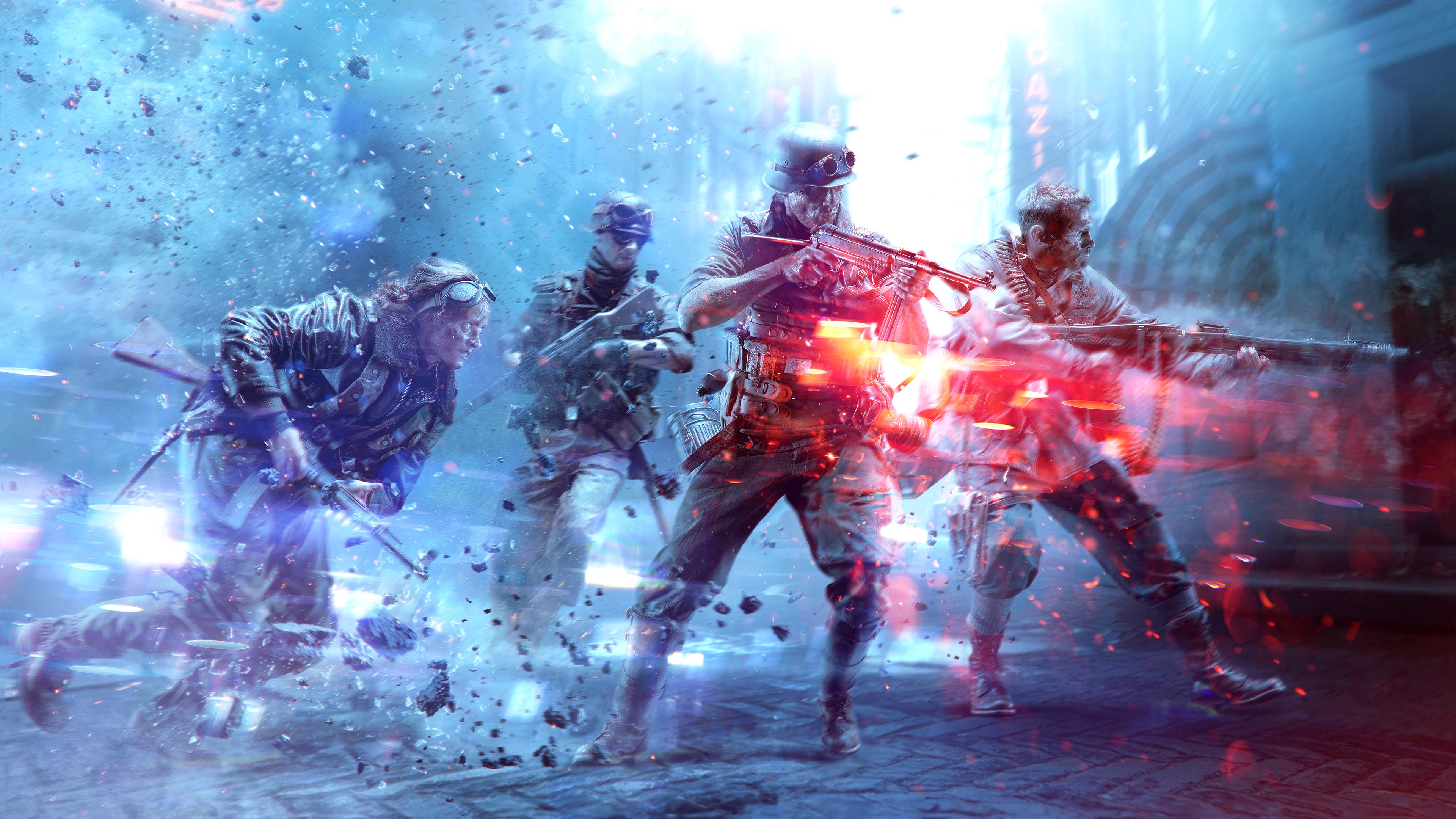 Battlefield V 4k Ultra Fondo De Pantalla Hd Fondo De