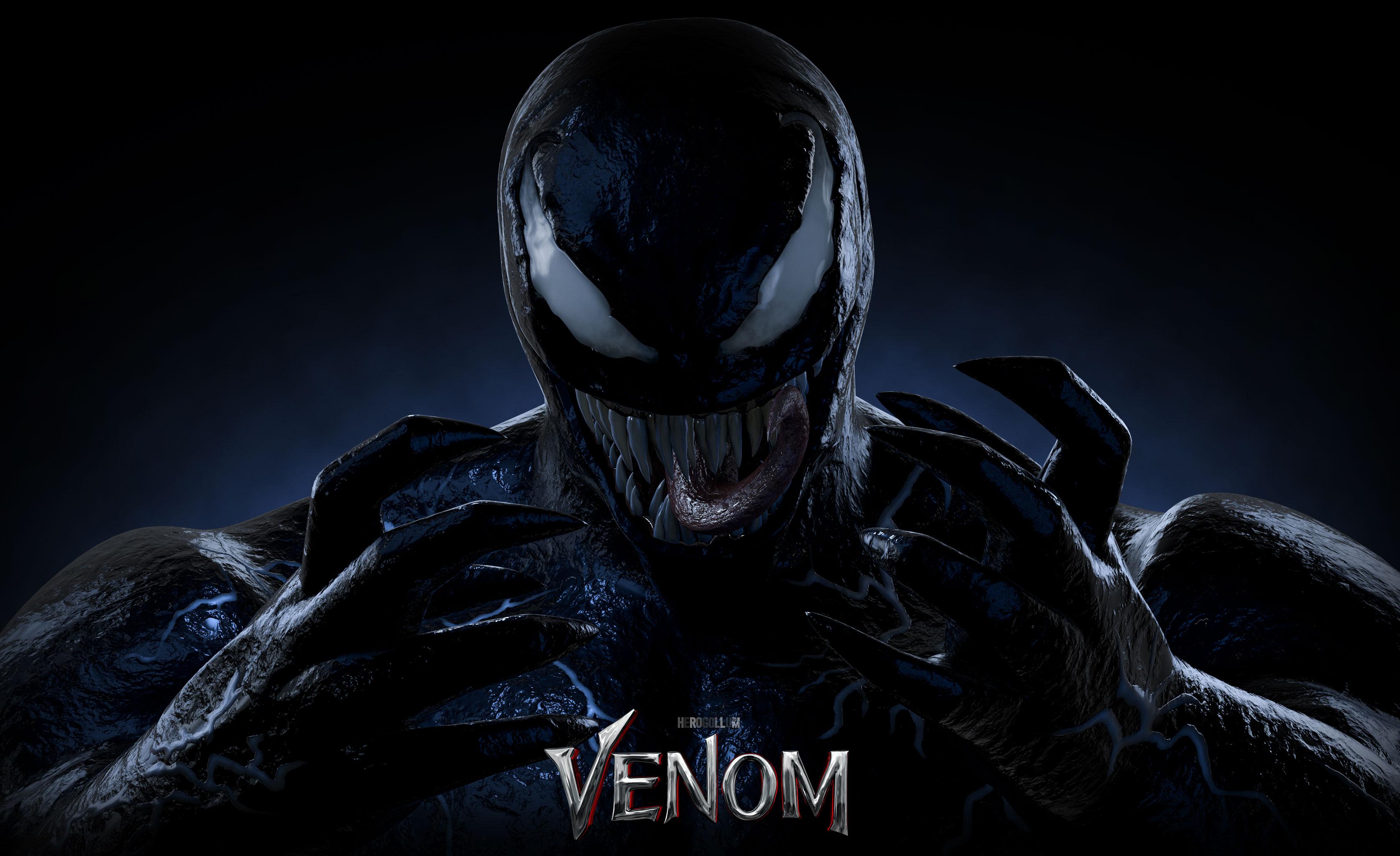 Venom Fond D Ecran Hd Arriere Plan 3348x2048 Id 945699
