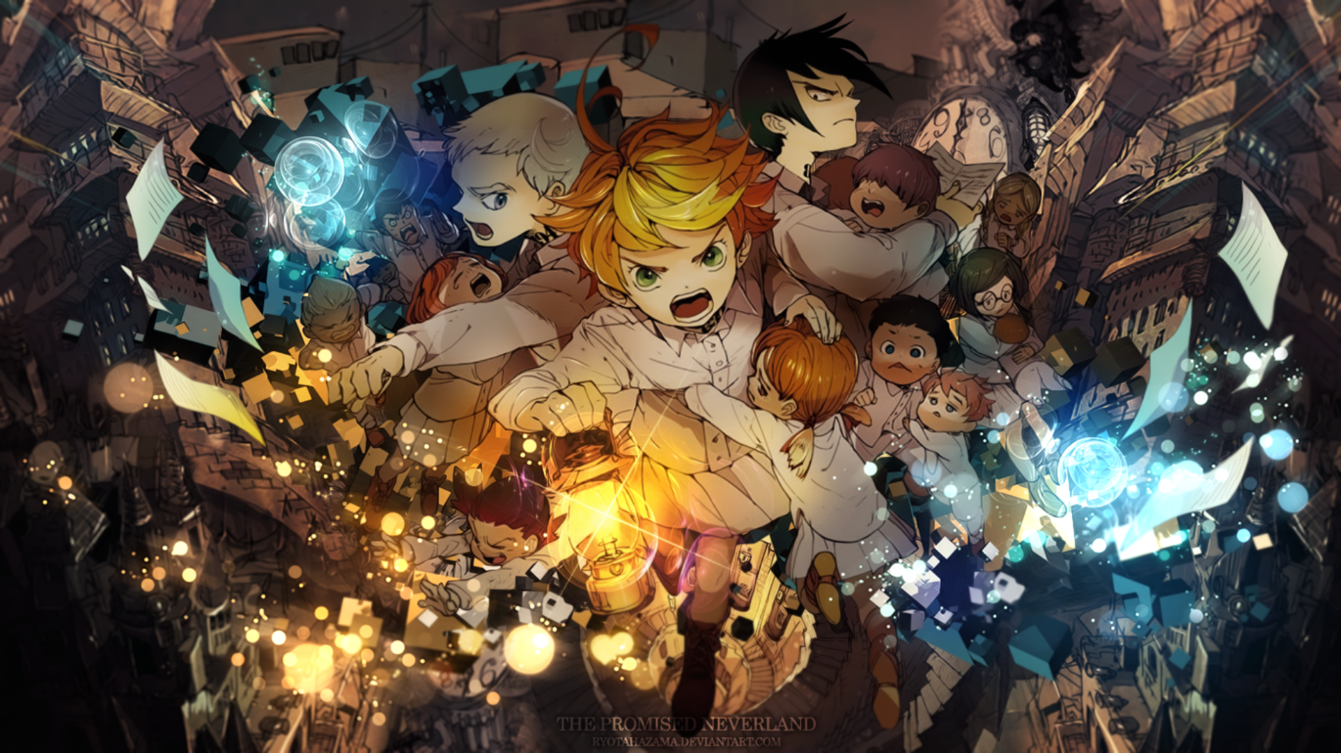 67 The Promised Neverland Hd Wallpapers Background Images