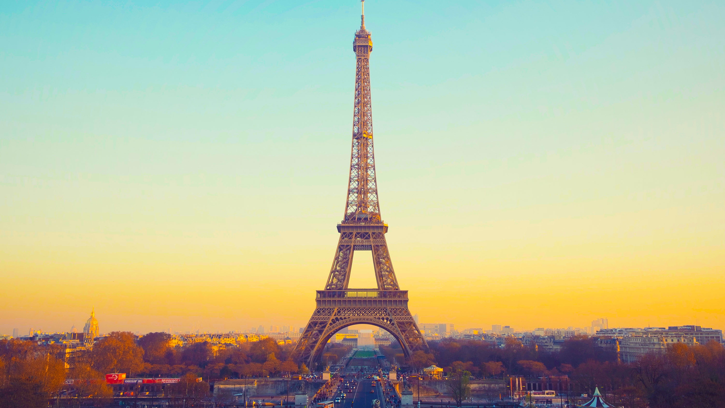 eiffel tower hd wallpaper | background image | 3000x1688 | id:946696
