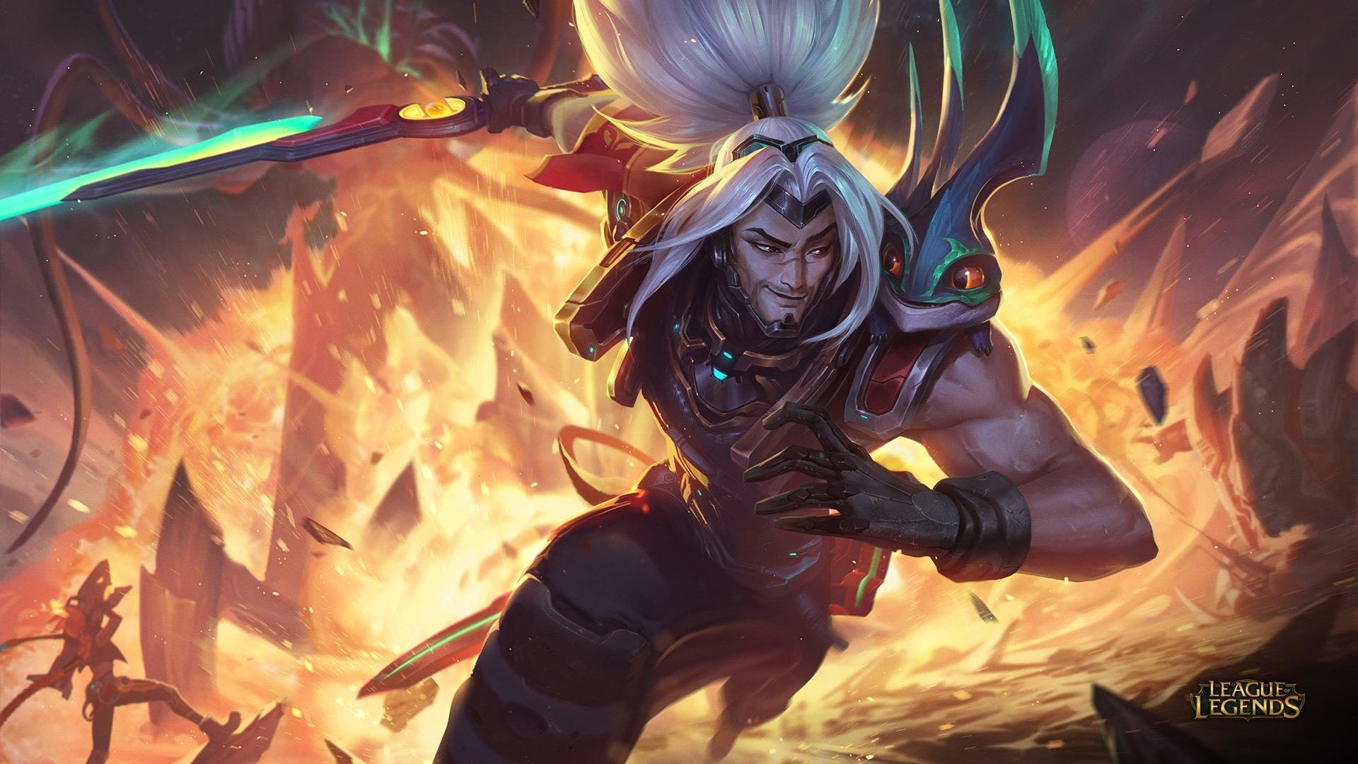 Odyssey Yasuo Hd Wallpaper Background Image 1920x1080 Id 946535 Wallpaper Abyss
