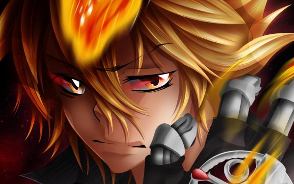 Anime Katekyō Hitman Reborn! Giotto HD Wallpaper   Background Image