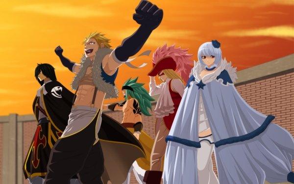 Anime Fairy Tail Sting Eucliffe Rogue Cheney Yukino Aguria Orga Nanagear Rufus Lore Fond d'écran HD | Image