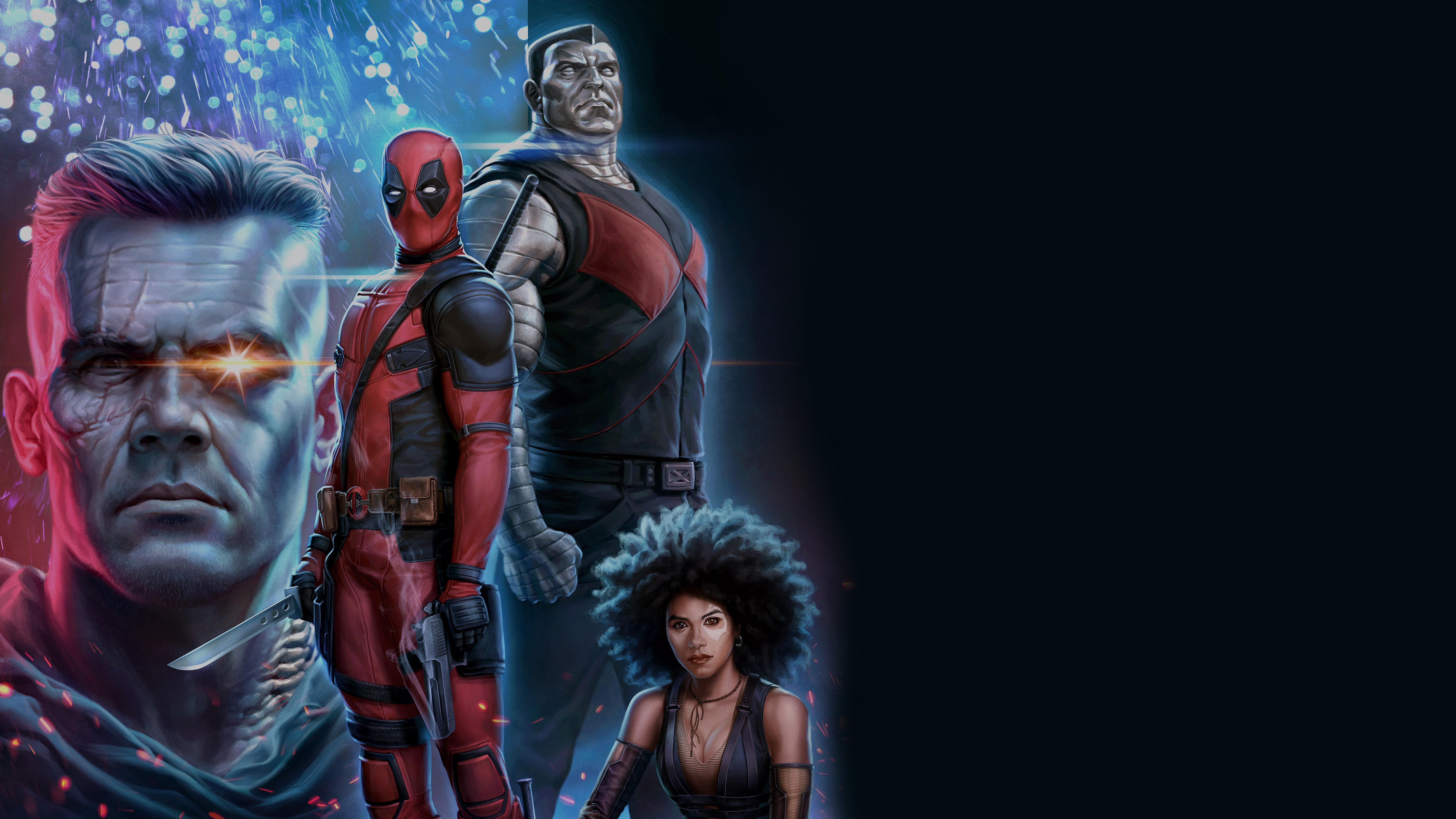 Deadpool 2 8k Ultra HD Wallpaper