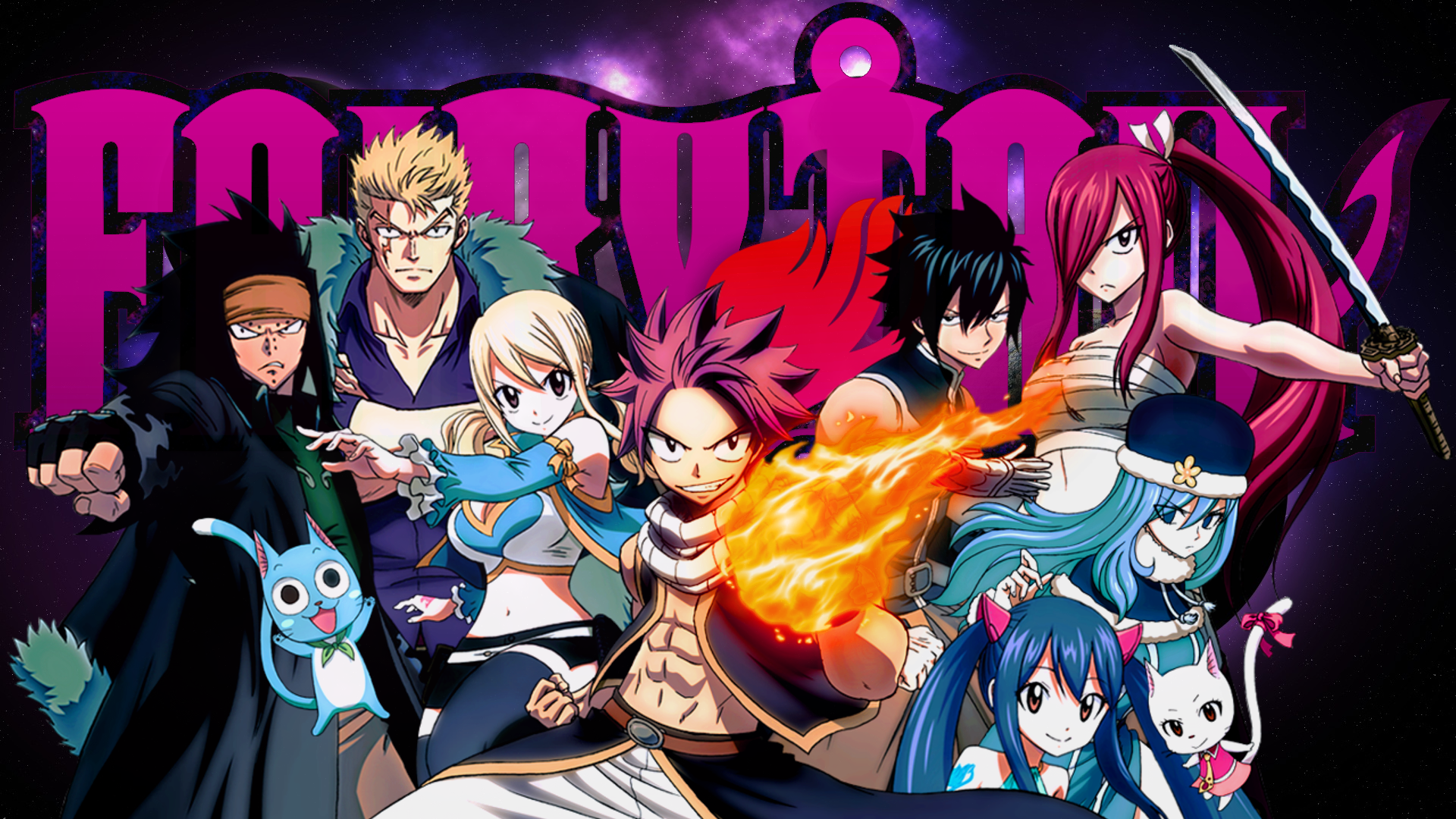 Fairy Tail Wallpaper Fondo De Pantalla Hd Fondo De