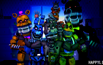 103 Five Nights at Freddy's 4 HD Wallpapers | Background