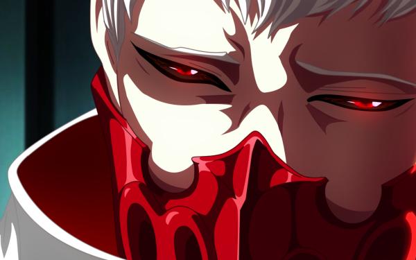 Anime Tokyo Ghoul:re Tatara Man Tokyo Ghoul Red Eyes White Hair Mask Tokyo Ghoul √A HD Wallpaper   Background Image