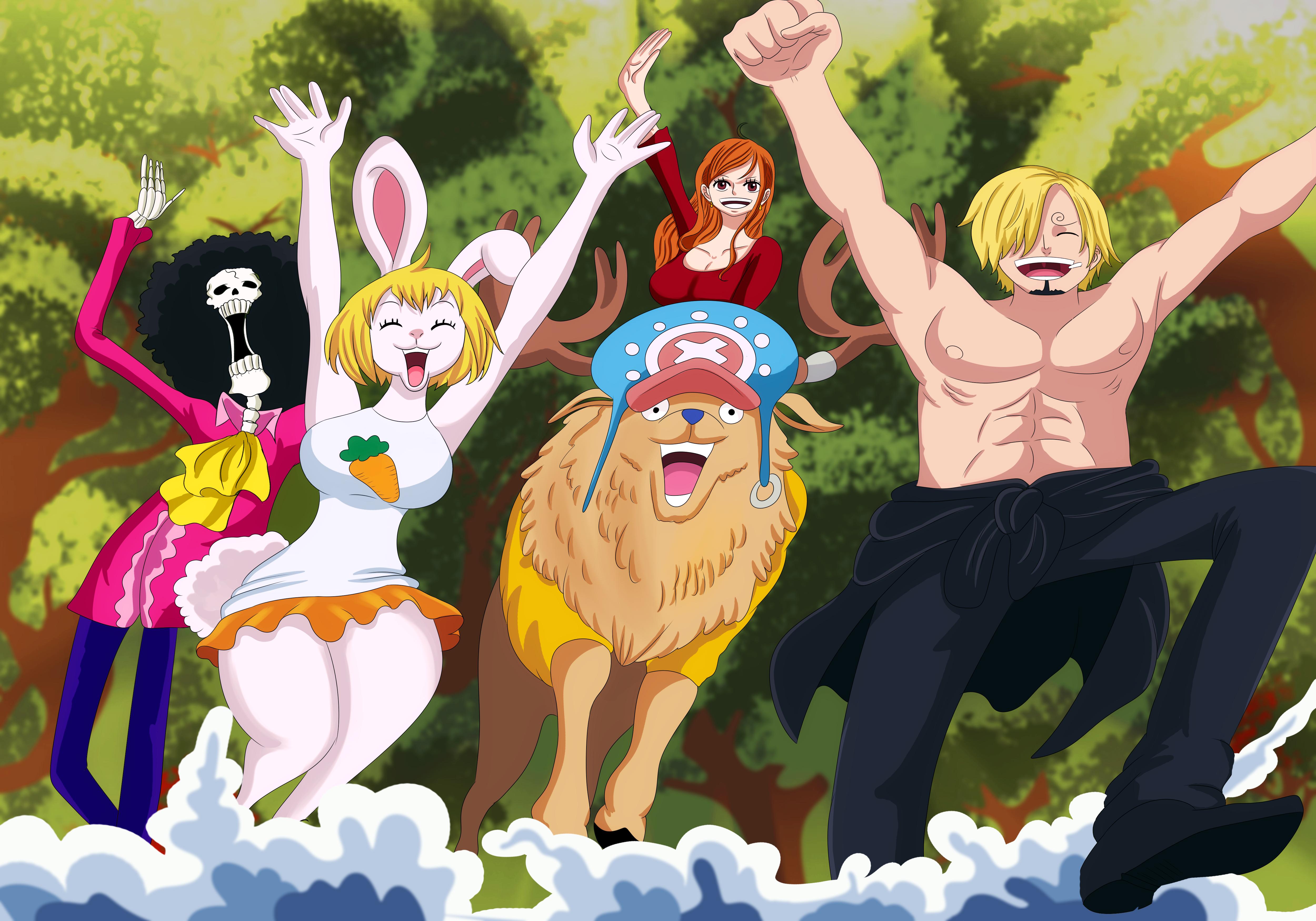 One Piece 4k Ultra Hd Wallpaper Background Image 5000x3500 Id