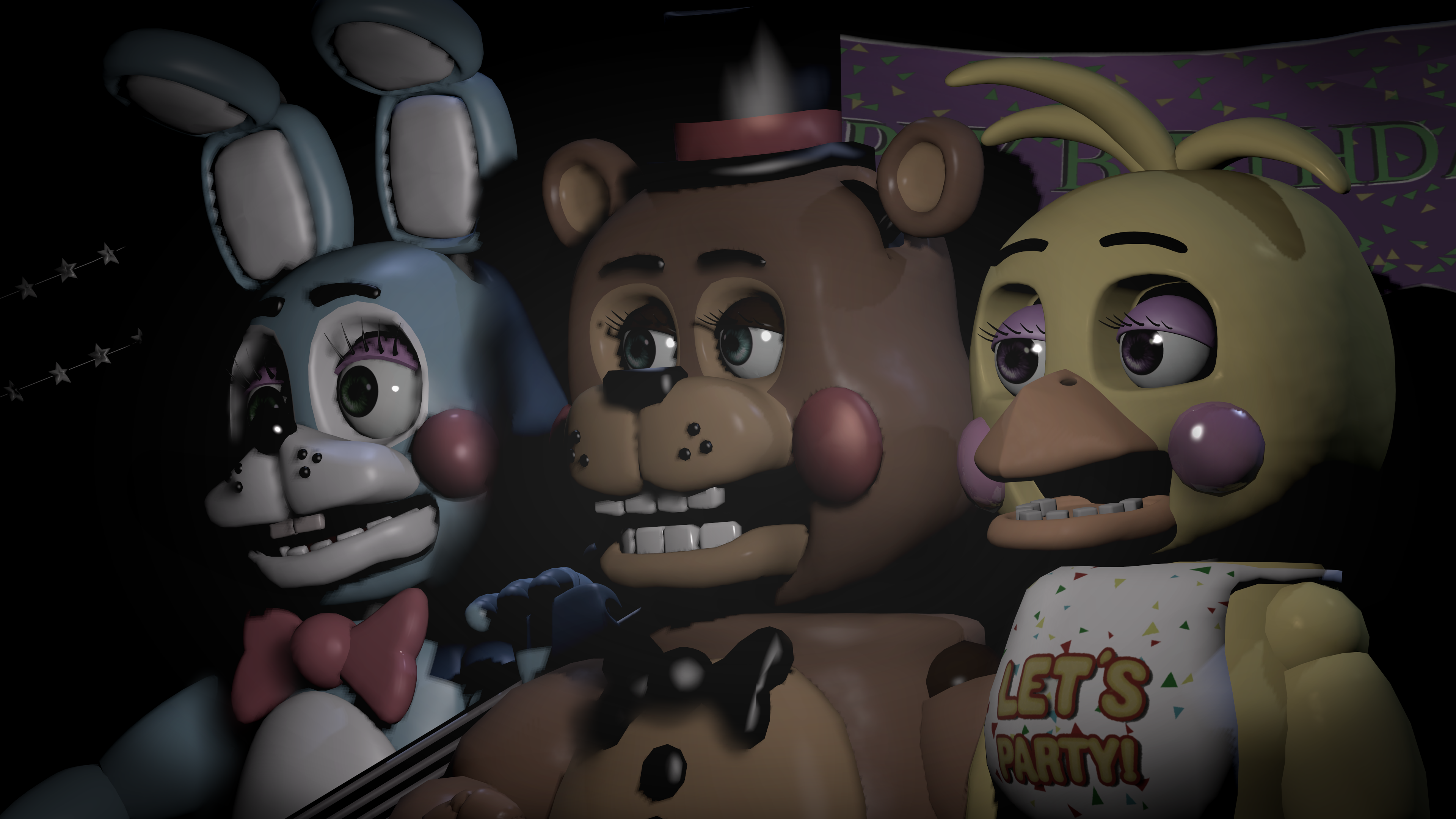 Five Nights At Freddy S 2 4k Ultra Hd Wallpaper Background Image