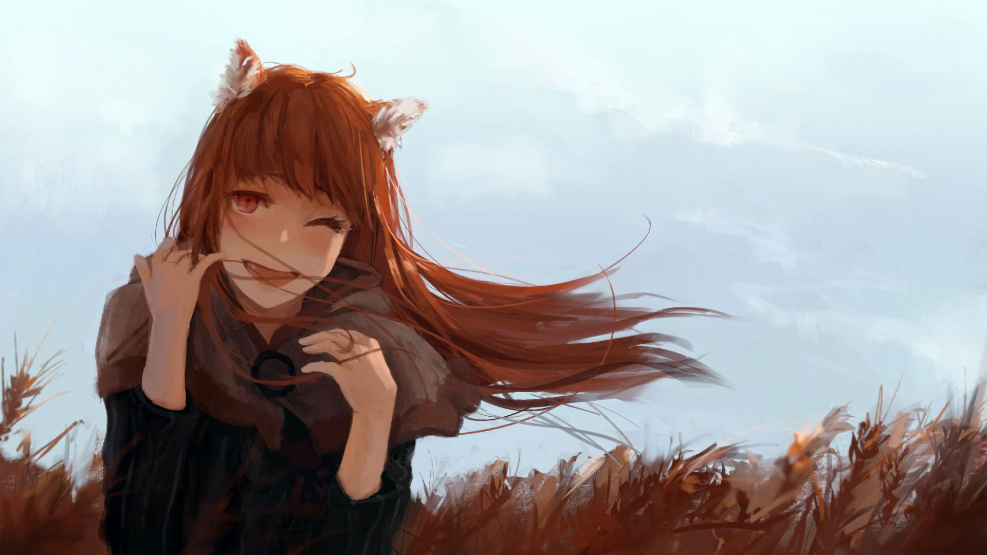 Spice And Wolf Hd Wallpaper Background Image 1920x1080 Id