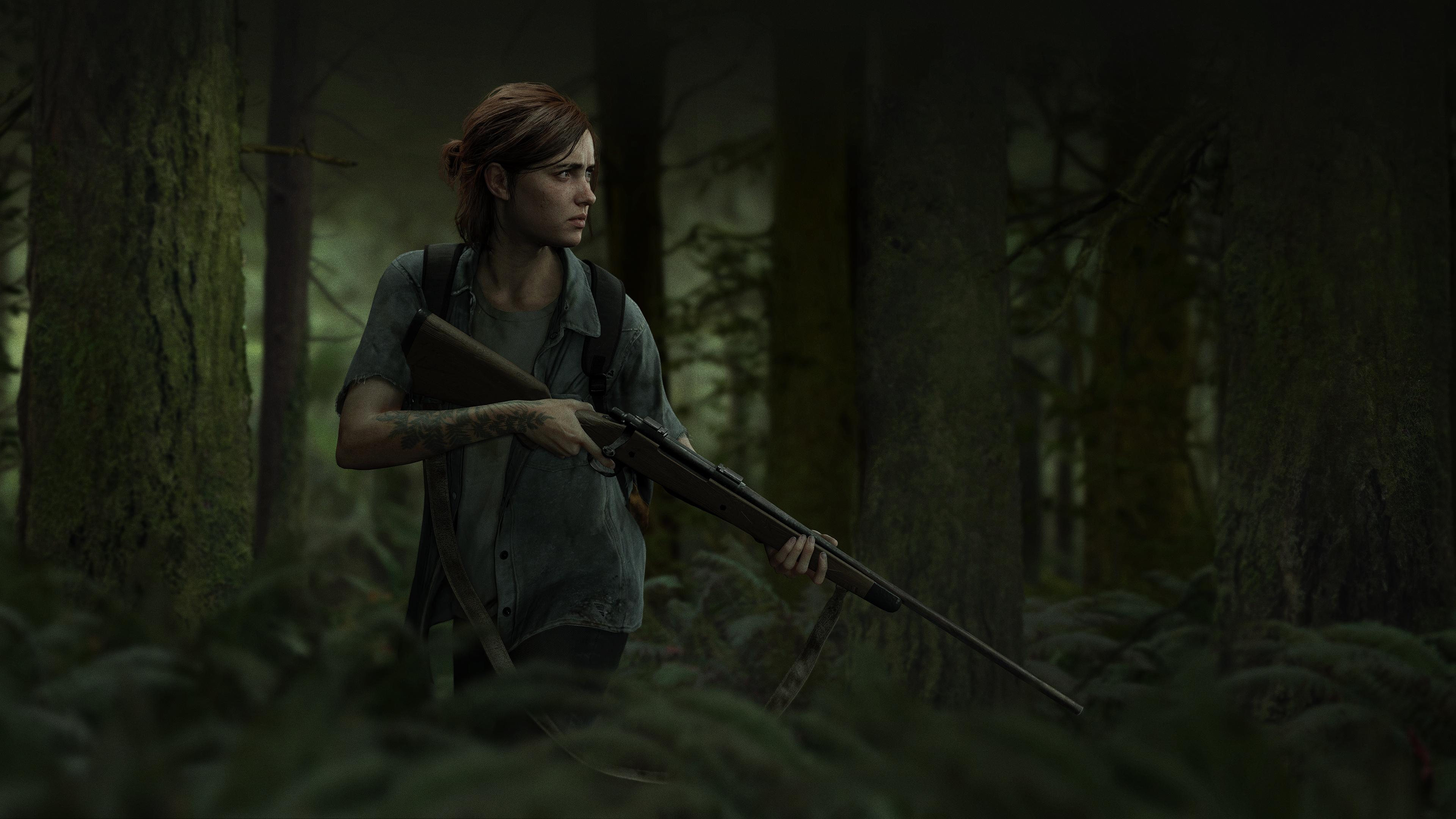 The Last Of Us Part Ii Ellie Outbreak Day 2018 4k Ultra