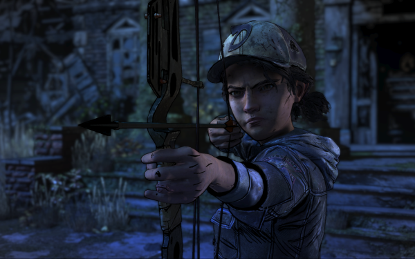 Video Game The Walking Dead: The Final Season Clementine HD Wallpaper   Background Image