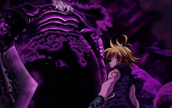 Anime The Seven Deadly Sins Meliodas Demon King HD Wallpaper | Background Image