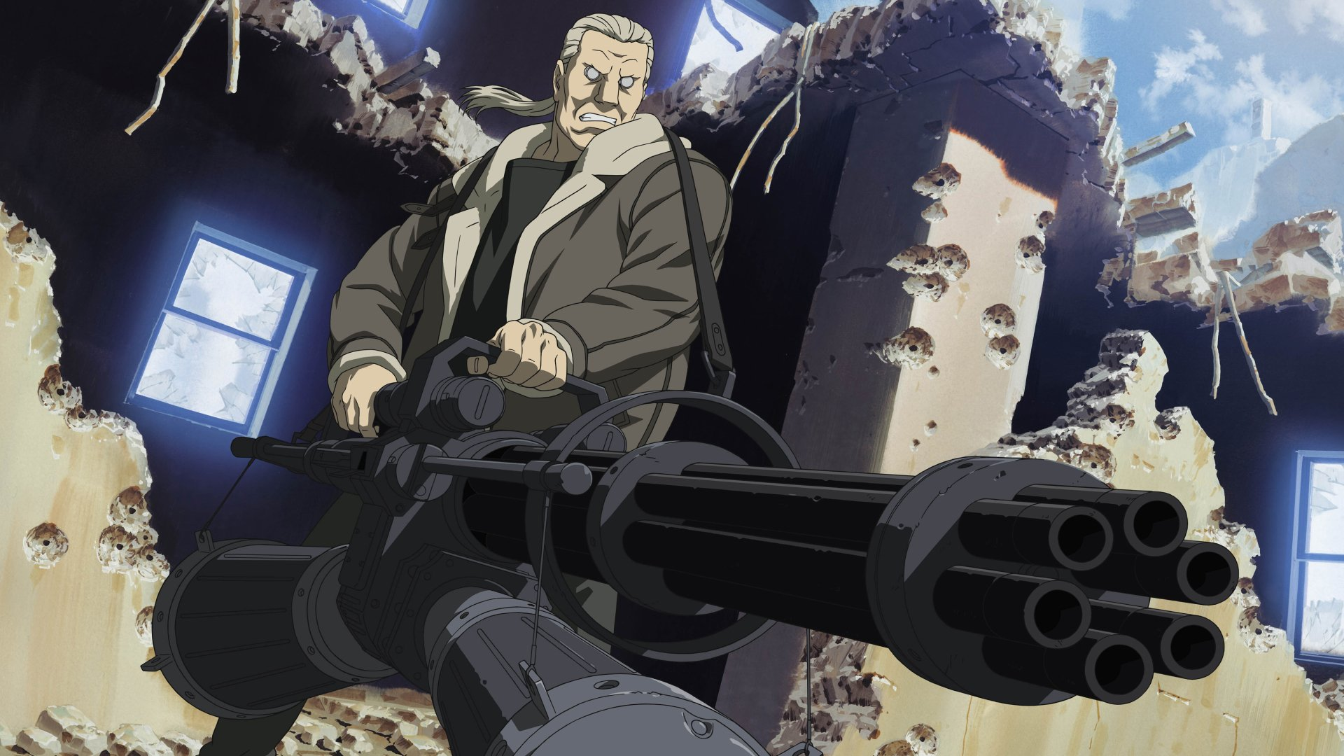 1 4k Ultra Hd Batou Ghost In The Shell Wallpapers Background Images Wallpaper Abyss