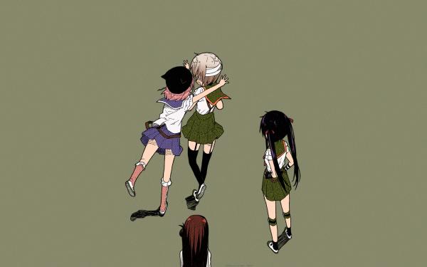 Anime School-Live! HD Wallpaper | Background Image