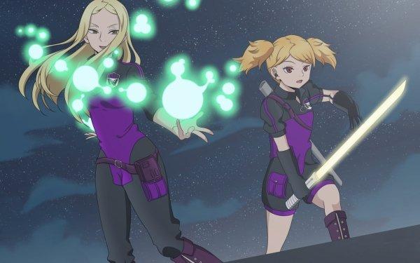 Anime World Trigger Nozomi Kako Futaba Kuroe Fondo de pantalla HD | Fondo de Escritorio