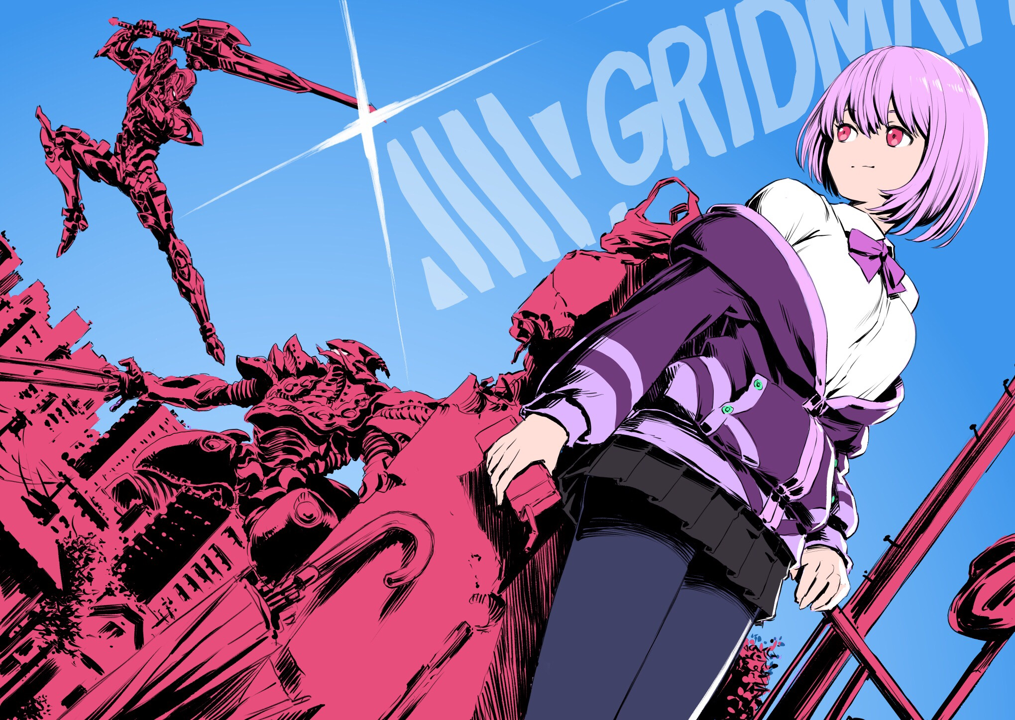9 SSSS.Gridman HD Wallpapers | Background Images ...