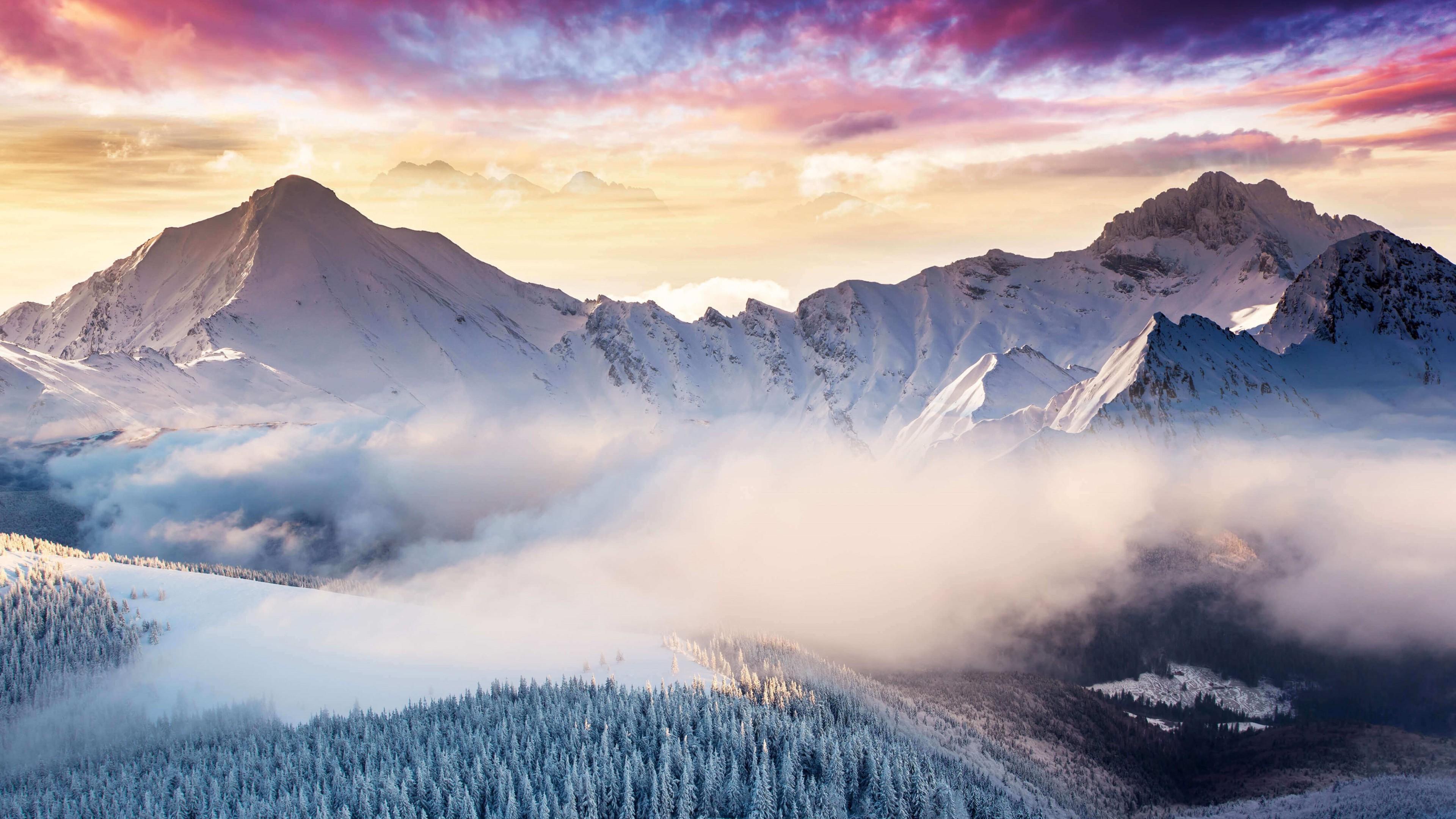 Montagne 4k Ultra Fond D Ecran Hd Arriere Plan 3840x2160 Id 960917 Wallpaper Abyss