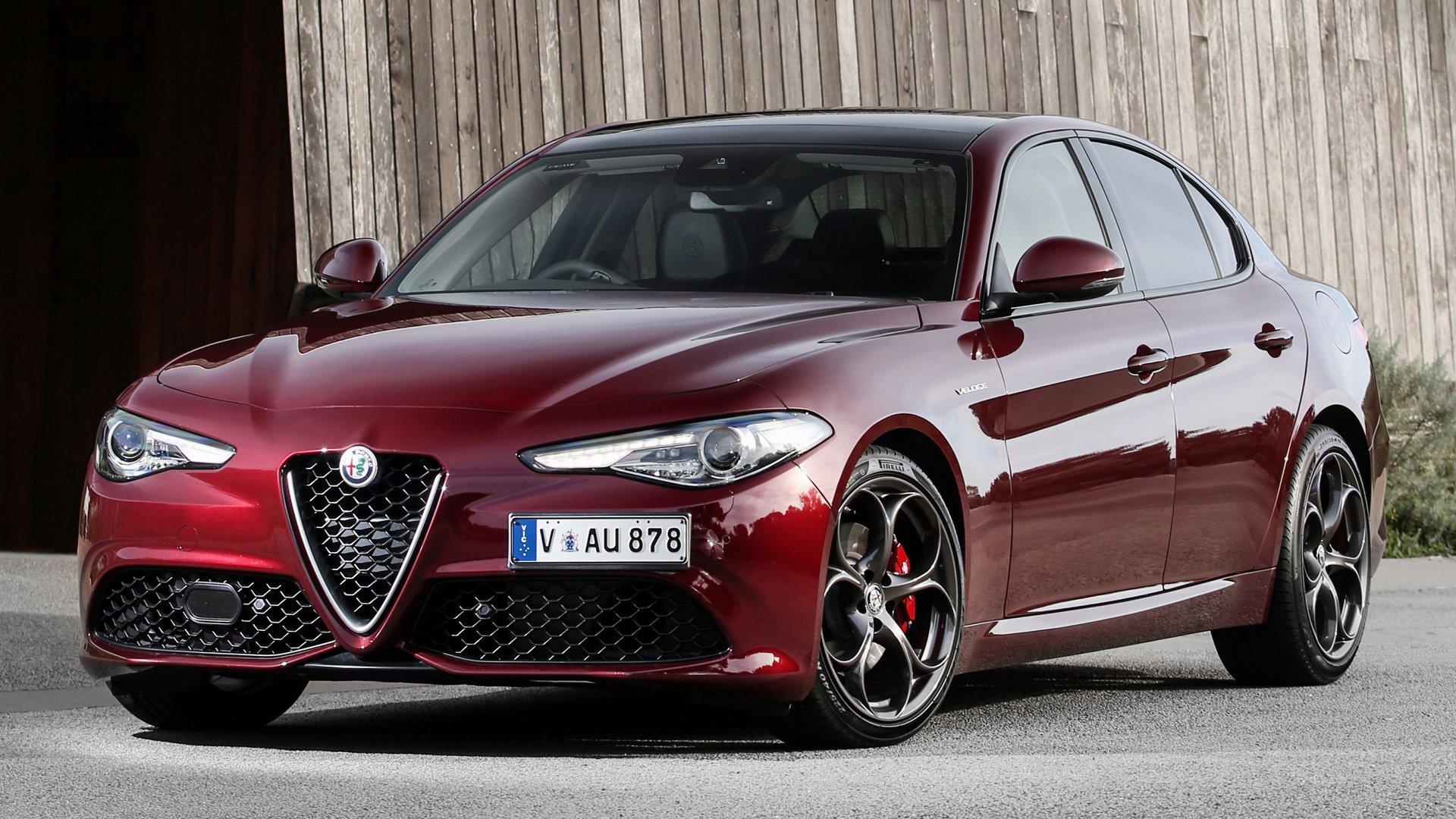2017 Alfa Romeo Giulia Veloce Hd Wallpaper Background Image 1920x1080 Id 960395 Wallpaper Abyss
