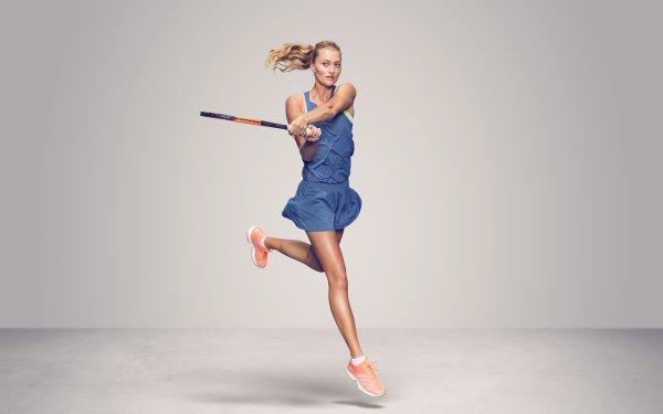 Sports Kristina Mladenovic Tennis French HD Wallpaper | Background Image