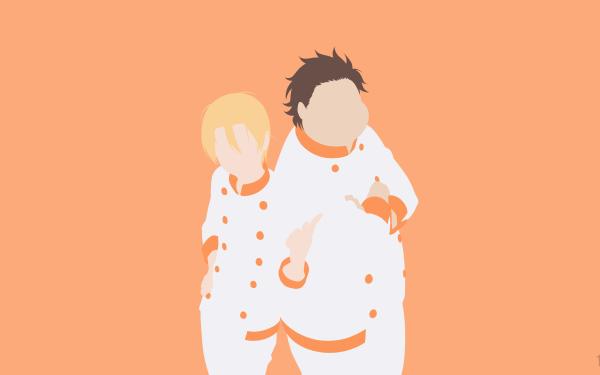 Anime Food Wars: Shokugeki no Soma Takumi Aldini Isami Aldini HD Wallpaper | Background Image