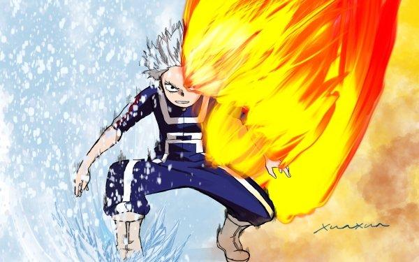 Anime My Hero Academia Shoto Todoroki HD Wallpaper   Background Image