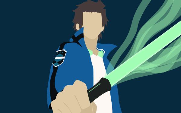 Anime World Trigger Yūichi Jin Fondo de pantalla HD | Fondo de Escritorio