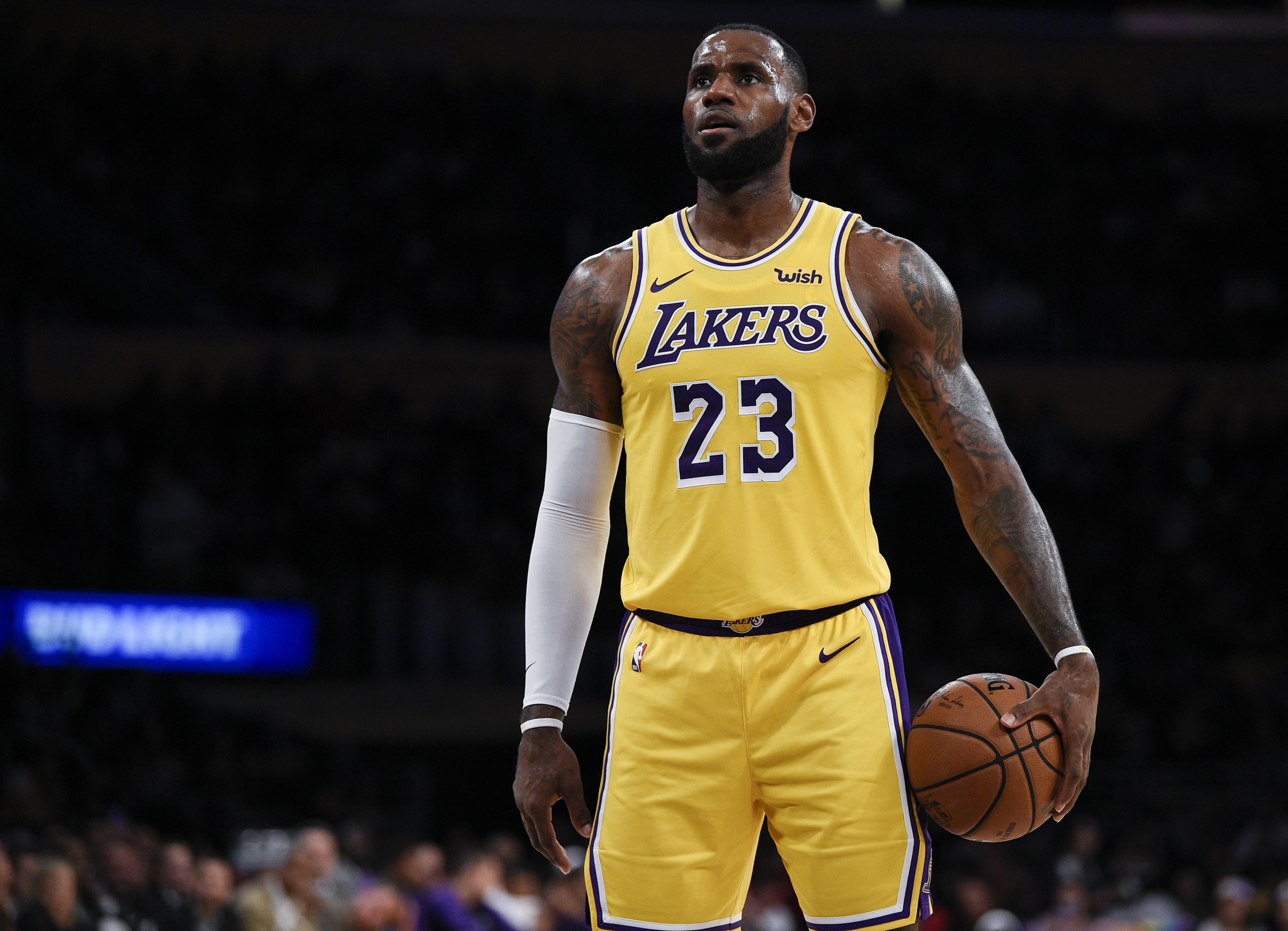 Nba Wallpapers Lebron James Lakers