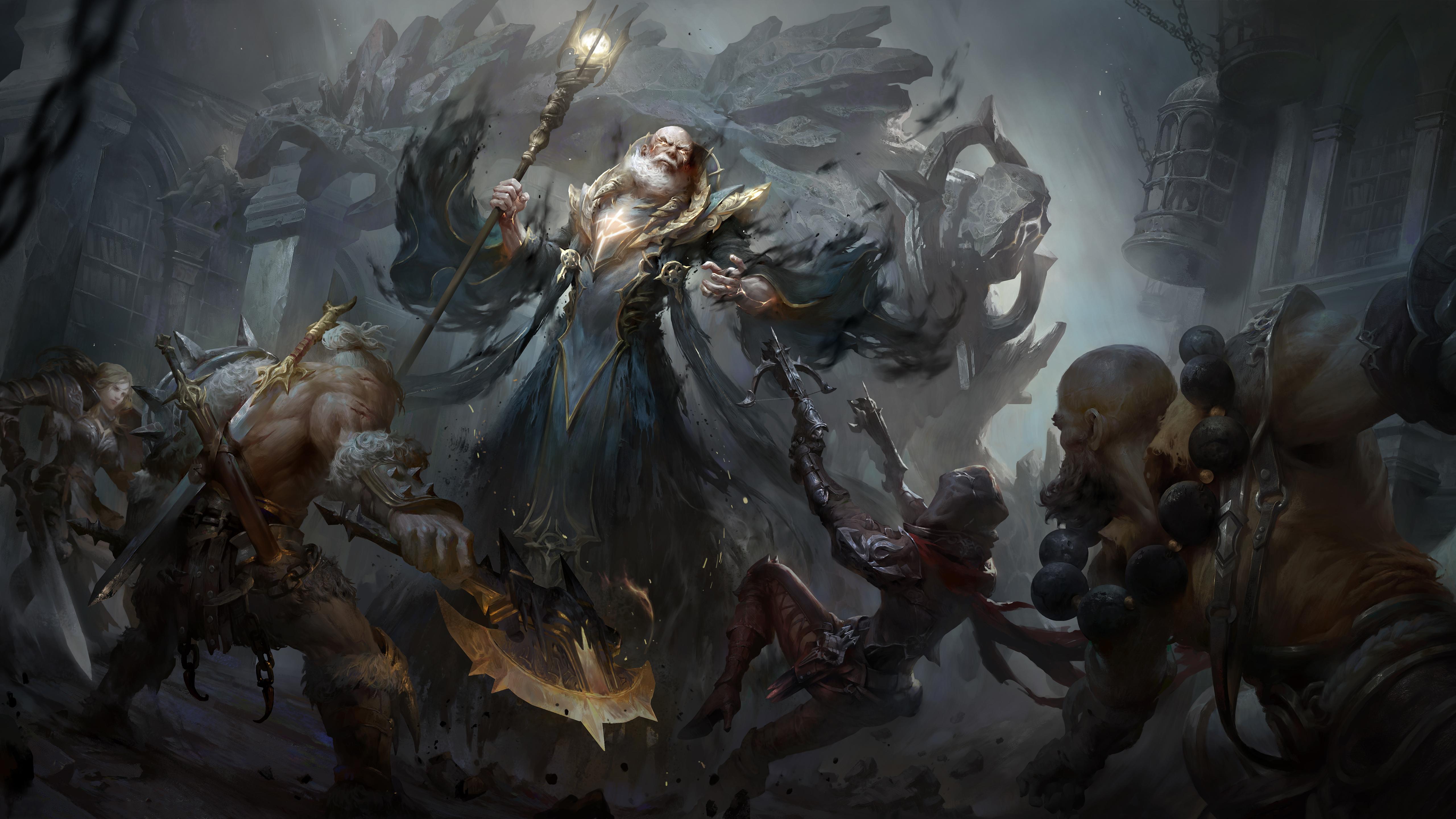 Diablo Immortal 5k Retina Ultra Hd Wallpaper Background Image