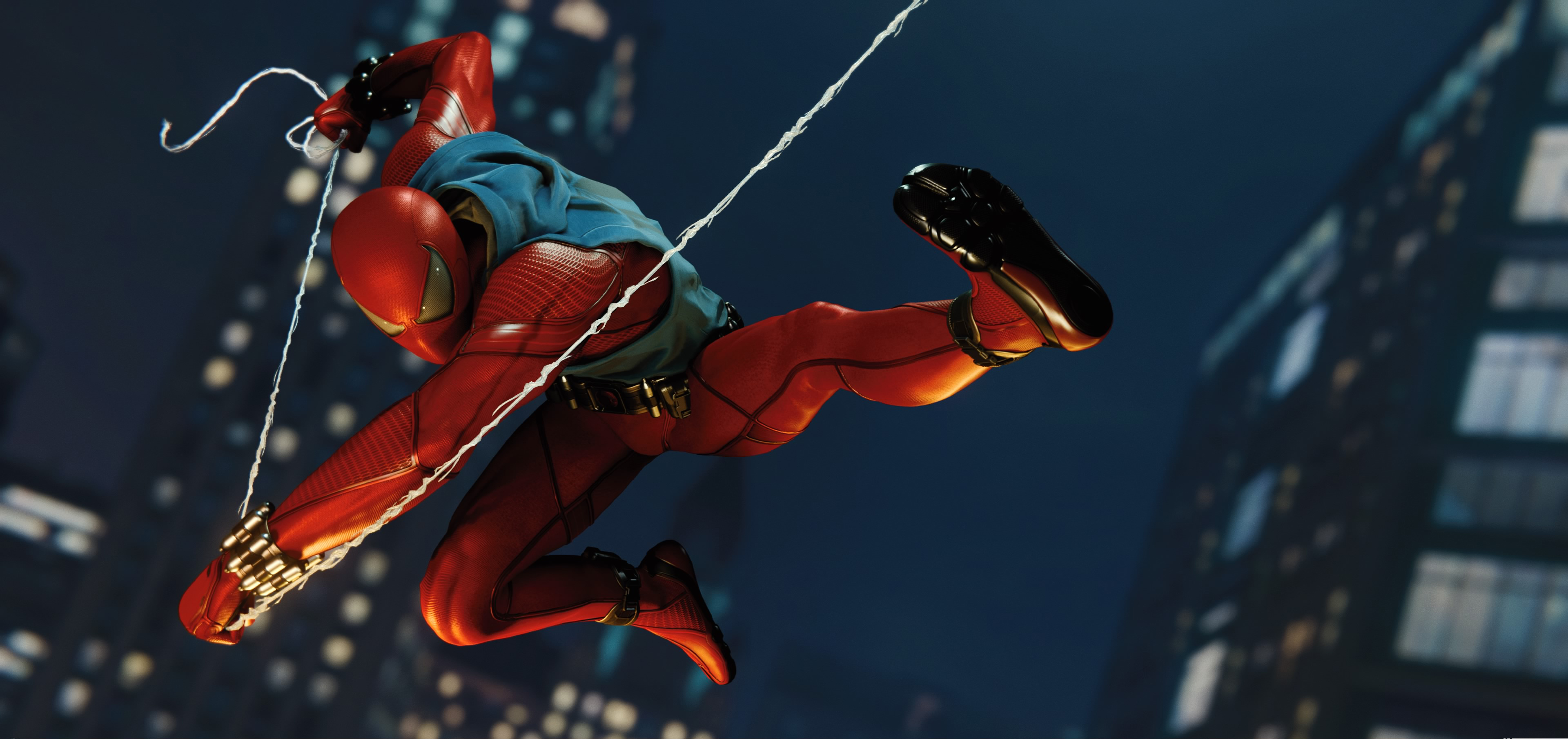 Spider-Man (PS4) Fondo De Pantalla HD