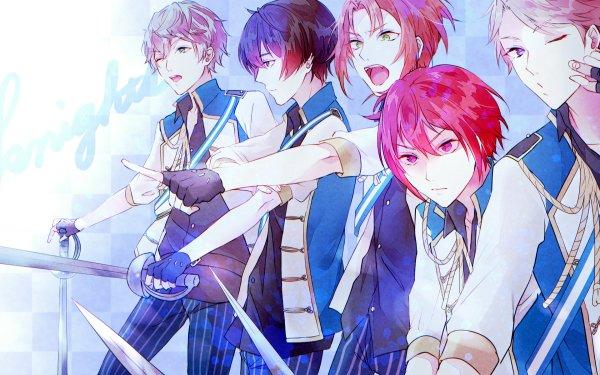 Video Game Ensemble Stars Arashi Narukami Izumi Sena Leo Tsukinaga Ritsu Sakuma Tsukasa Suou HD Wallpaper | Background Image